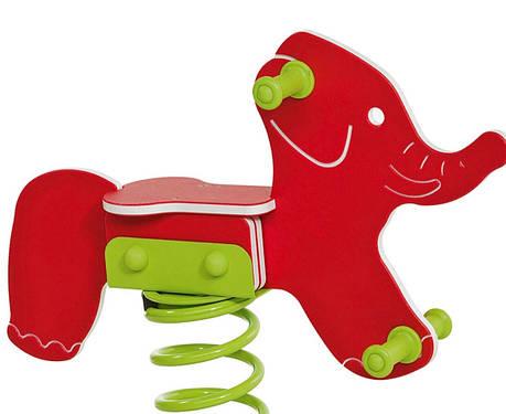 Качалка на пружине KBT Слон из HDPE пластика (только сидение), фото 2