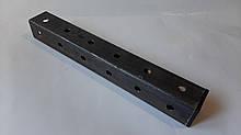 Труба стальная профильная перфорированная 40х40х2 мм