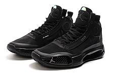 Мужские баскетбольные кроссовки Nike Air Jordan XXXIV (34) черные, фото 3