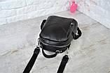 Рюкзак Atlas с двумя ремешками черный молодежный, фото 5