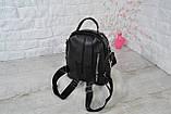 Рюкзак Atlas с двумя ремешками черный молодежный, фото 7