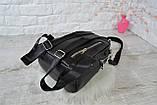 Рюкзак Atlas с двумя ремешками черный молодежный, фото 9