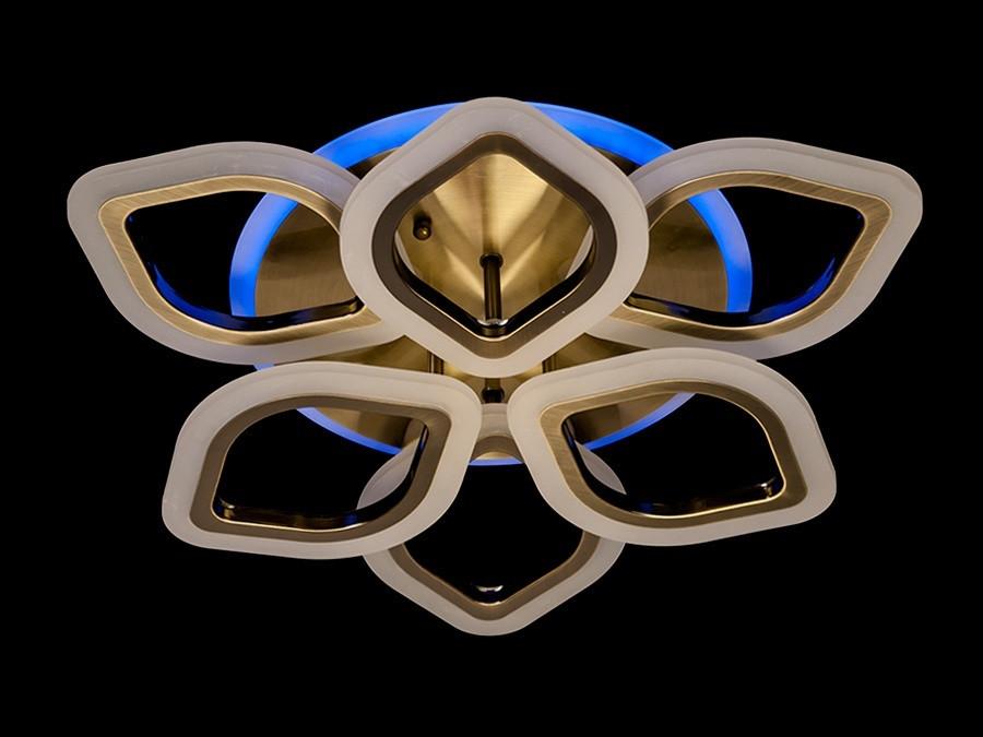 Люстра светодиодная потолочная A3002/3+3BR LED 3color dimmer