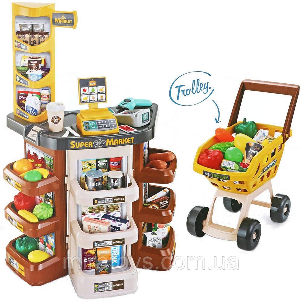 Дитячий супермаркет-магазин 668-77 з візком