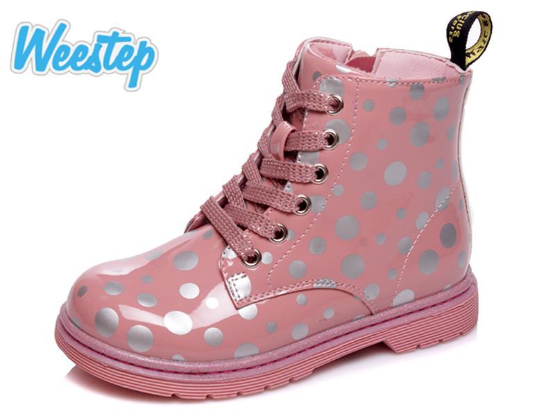 Ботинки Weestep  R223155003 Pink 22-26 26