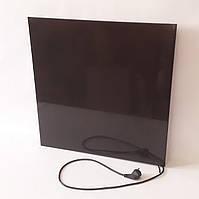 Керамический обогреватель с конвекционными решетками и терморегулятором Opal 375 Black, фото 1