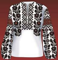Схема для вишивки жіночого плаття з викрійкою. Арт. F2801