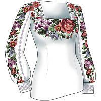 Схема для вишивки жіночого плаття з викрійкою. Арт. F2807