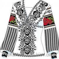 Схема для вишивки жіночого плаття з викрійкою. Арт. F2808