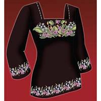 Схема для вишивки жіночого плаття з викрійкою. Арт. F2816