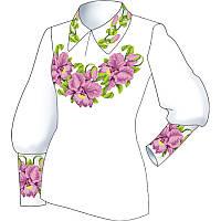 Схема для вишивки жіночого плаття з викрійкою. Арт. F2810