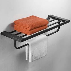 Полиця-вішалка для рушників у ванну кімнату. Модель 3-110-1.