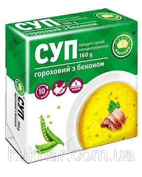 Суп брикет Гороховий з беконом 160г