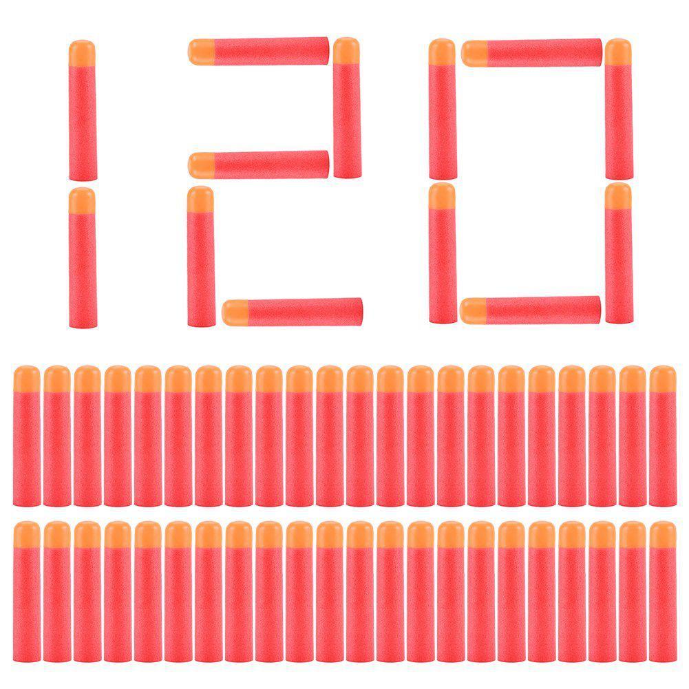 Набор из 120 стрел (мягкие пули) для игрушечного оружия Nerf Mega (Мега)