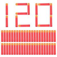 Набор из 120 стрел (мягкие пули) для игрушечного оружия Nerf Mega (Мега), фото 1