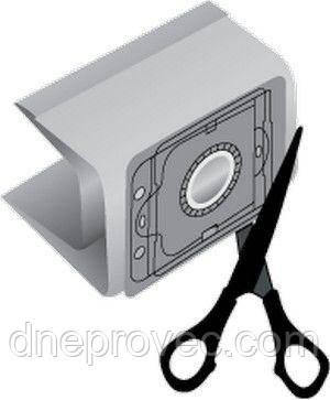 Мешок (пылесборник) для пылесоса бумажный FB-16 универсальный, фото 2
