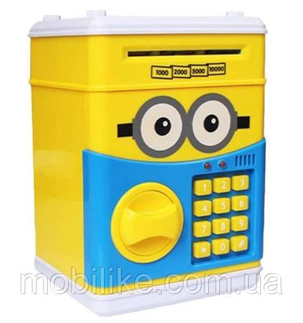 Сейф - игрушка с кодом Миньен