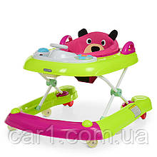 Детские ходунки ТОПТЫЖКА 3 в1 на силиконовых колёсиках