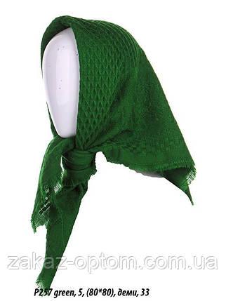 Платок женский оптом(80*80)Узбекистан Р257-59614, фото 2