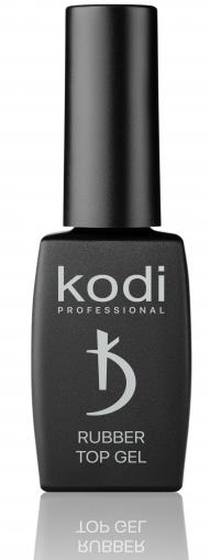 Каучуковое верхнее покрытие (топ/финиш) Kodi Rubber Top Gel, 12 мл