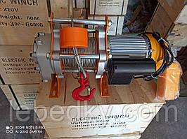 Электрическая лебедка/таль КСД  500/1000 кг., 220 В, 60 м