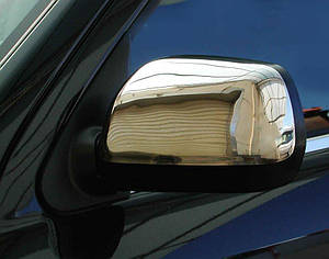 Накладки на зеркала нерж Daihatsu Terios