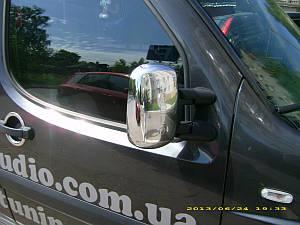 Накладки на зеркала FIAT DOBLO 00-10 г.в.