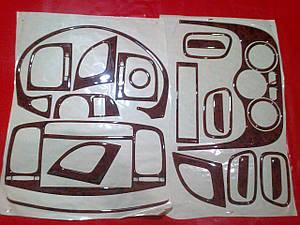 Накладки салона под дерево HYUNDAI ACCENT 2006+
