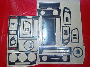 Накладки салона под карбон Mazda 3 2003-2009