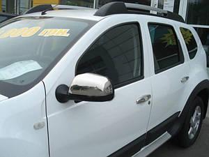 Накладки на зеркала нерж Renault Duster 2010-2017