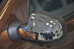 Накладки на зеркала нерж для Renault Duster 2010-2017