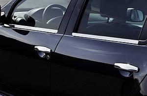 Хром молдинг стекла Renault Duster
