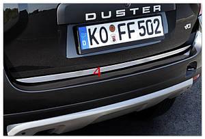 Накладка на кромку багажника Renault Duster