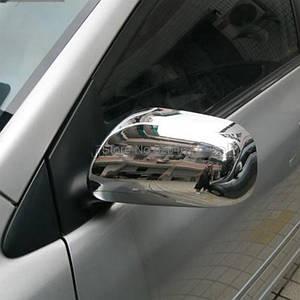 Накладки на зеркала нерж Toyota Avensis 2003-2006