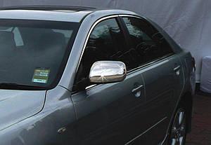 Накладки на зеркала нерж Toyota Camry 40 2006-2010