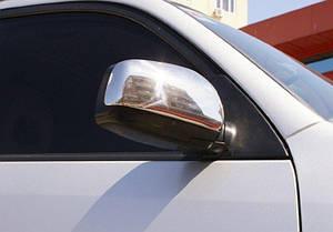 Накладки на зеркала нерж Toyota Rav4 2000-2005