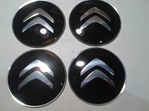 Наклейка выпуклая на колпачок диска Citroen 65 мм