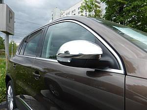 Накладки на зеркала нерж Volkswagen Tiguan 2007-2014