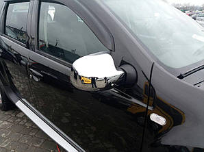 Накладки на зеркала Renault Duster 2010-2018