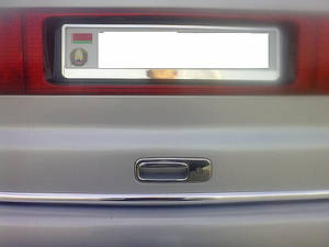 Накладка на ручку багажника Volkswagen Sharan 1996-2010