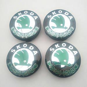 Колпачки в диски Skoda 52-56 мм