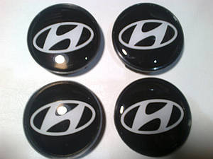 Колпачки в диски HYUNDAI диаметр 56мм