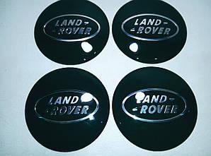 Наклейка выпуклая на колпачок диска Land Rover 65 мм