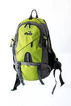 Рюкзак Tramp Overland трекинговый зеленый/серый 35 л. TRP-034