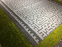 Безворсовая дорожка-рогожка Karat Carpet: 60; 120; 150 см