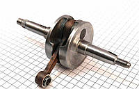 Коленвал в сборе на двигатель 2Т - цепной вариатор