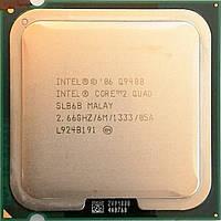Процессор Intel Core 2 Quad Q9400 R0 SLB6B 2.66GHz 6M Cache 1333 MHz FSB Socket 775 Б/У
