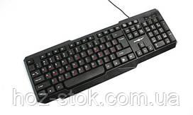 Клавиатура проводная Maxxtro KB-211-U (USB) Black (Maxxter)