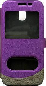 Чехол-книжка SA J330 violet Window