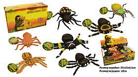 Животные резиновые 7426 (36уп по 24шт/2) Пауки в коробке 28*16*9см